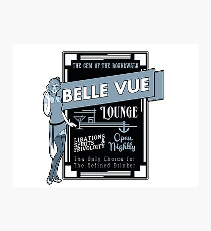 The Belle Vue - A Great Place To Get A Drink Photographic Print