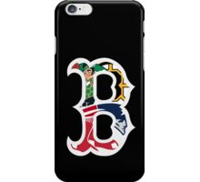 Boston Bruins, New England Patriots, Boston Celtics, Boston Red Sox iPhone Case/Skin