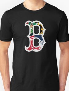 Boston Bruins, New England Patriots, Boston Celtics, Boston Red Sox T-Shirt