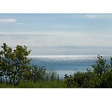 Looking out at Lake Ontario  Photographic Print