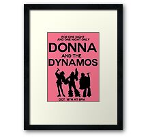 Super Troupers Framed Print
