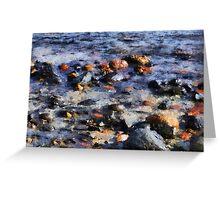 Saltwater Mosaic Greeting Card