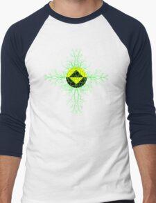 Infected Guardian Icon 2 Men's Baseball ¾ T-Shirt