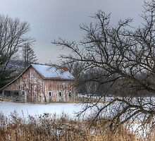 Winter on the Farm by wiscbackroadz