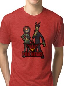 Pox News Design Tri-blend T-Shirt
