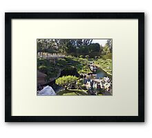 Storybook Land Canal Boats Framed Print