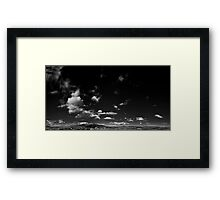 ©HCS Move On With The Wind IAR Monochrome Framed Print