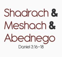 Shadrach, Meshach, and Abednego Kids Tee