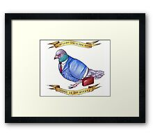 Bird School, Which Is For Birds Framed Print