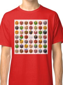 Mine Cubes Isometric Classic T-Shirt