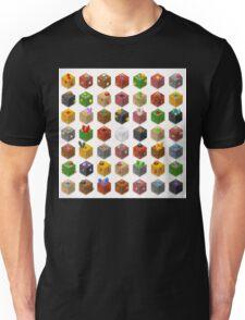 Mine Cubes Isometric Unisex T-Shirt