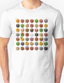 Mine Cubes Isometric T-Shirt
