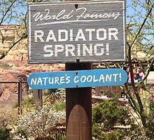 Welcome to Radiator Springs by Sara Hargis