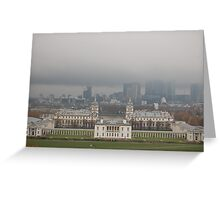 Queens House, Old Royal Naval College,Greenwich, London, England Greeting Card