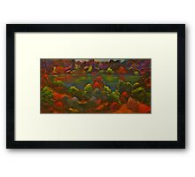 Quechee Lake Framed Print