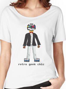 Retro Geek Chic Women's Relaxed Fit T-Shirt