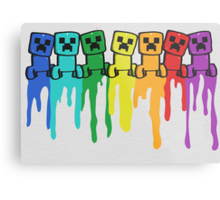 Rainbow Creep Metal Print