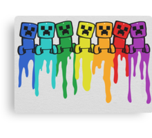 Rainbow Creep Canvas Print