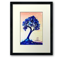 The Tree Seat Framed Print