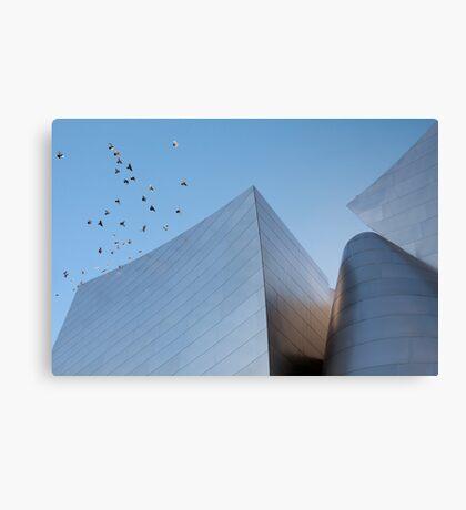 Walt Disney Concert Hall - Los Angeles California Canvas Print