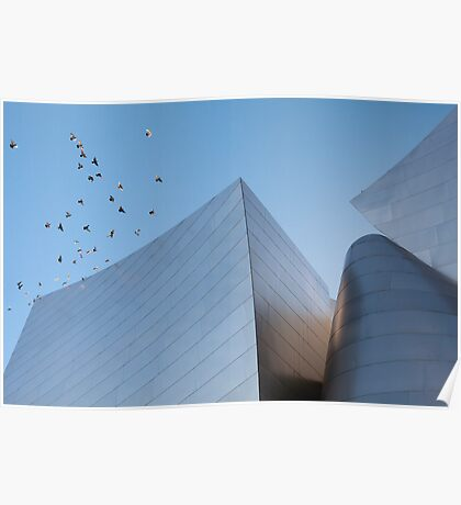 Walt Disney Concert Hall - Los Angeles California Poster