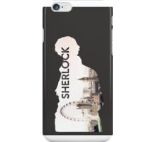 Sherlock (Grey) iPhone Case/Skin