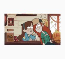 mabel and wendy talking by kiragf