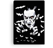 Dracula the vampire Canvas Print