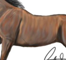 Cantering Horse Sticker
