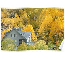 Room With a View - Autumn in Eastern Sierra Poster
