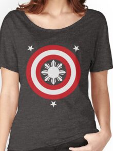 Captain Philippines! (White Sun) Women's Relaxed Fit T-Shirt