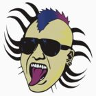 Punk Spirit! Art Prints - T Shirt - Stickers by Denis Marsili