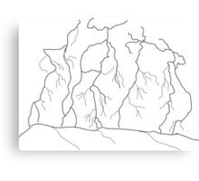 Lightning Strikes Thrice Canvas Print