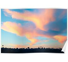 Last Sunset 2013 - Newport Beach California Poster