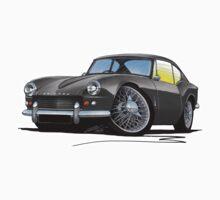 Triumph GT6 (Mk1) Grey Kids Tee