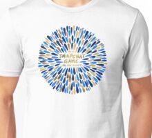 Snapchat – Navy & Gold Unisex T-Shirt