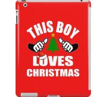This Boy loves Christmas iPad Case/Skin