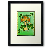 Happy St. Patrick's Day to you! Framed Print