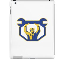 Mechanic Lifting Spanner Wrench Retro iPad Case/Skin
