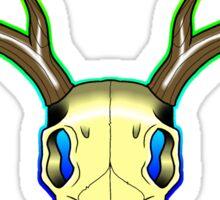 Neo-Traditional Deer Skull Sticker