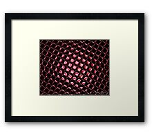 Black Mirrors Framed Print