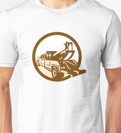 Tow Truck Wrecker Rear Retro Unisex T-Shirt