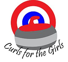 Curls for the Girls Photographic Print