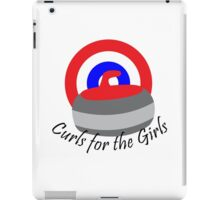 Curls for the Girls iPad Case/Skin