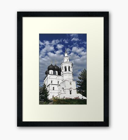 View of the Church Framed Print