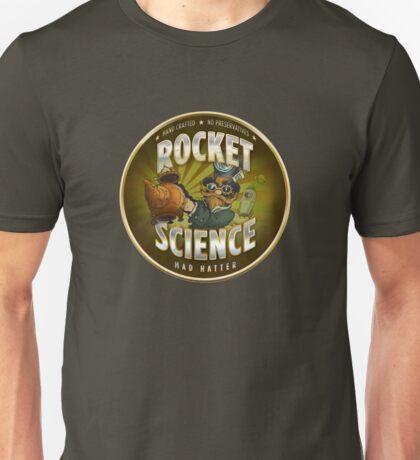 Rocket Science Mad Hatter Unisex T-Shirt