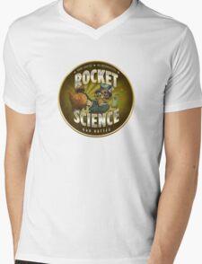 Rocket Science Mad Hatter Mens V-Neck T-Shirt