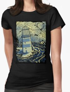 THE LIGHTHOUSE Womens Fitted T-Shirt
