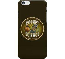 Rocket Science Mad Hatter iPhone Case/Skin