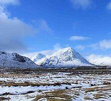 Buchaille Etive Mor, Glencoe by Pat Millar